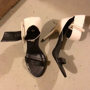 Guess Shoes - GUESS Belt Buckle Ankle Strap